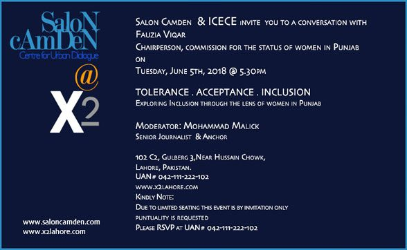 Tolerance . Acceptance . Inclusion – Exploring Inclusion Through The Lens of Women In Punjab