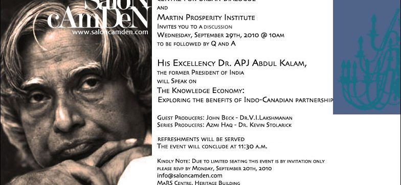 The Knowledge Economy: Exploring the benefits of Indo-Canadian partnership