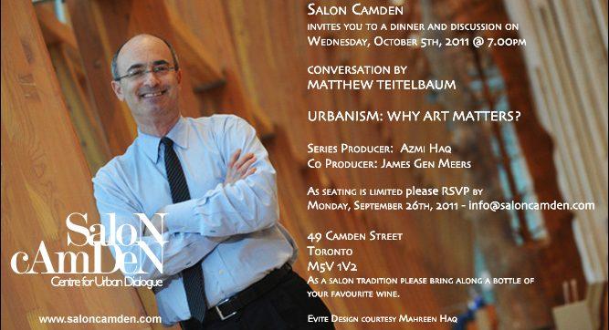 URBANISM: Why Art Matters?