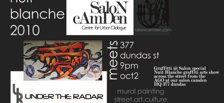 Nuit Blanche Live Graffiti@Salon