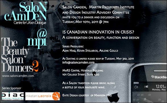 Is Canadian innovation in crisis? A conversation on beauty, function and design